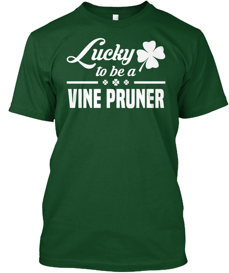 Vine Pruner Deep Forest T-Shirt Front