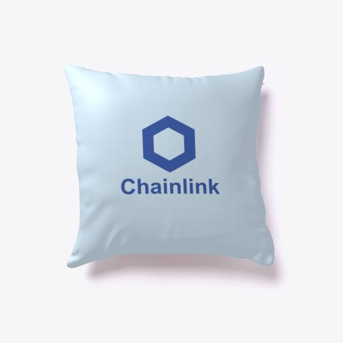 Chainlink Link   Pillow Pale Blue T-Shirt Front