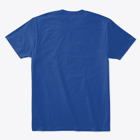 Team Kinda Funny 2019 Deep Royal T-Shirt Back