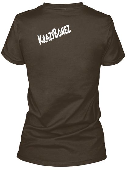 Krazy Bonez Dark Chocolate T-Shirt Back
