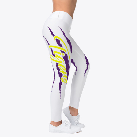 Tiger Claw Leggings Standard T-Shirt Right