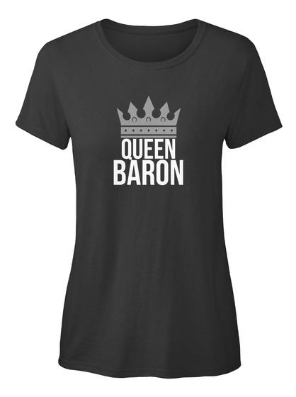 Baron   Simply Queen Baron Black T-Shirt Front