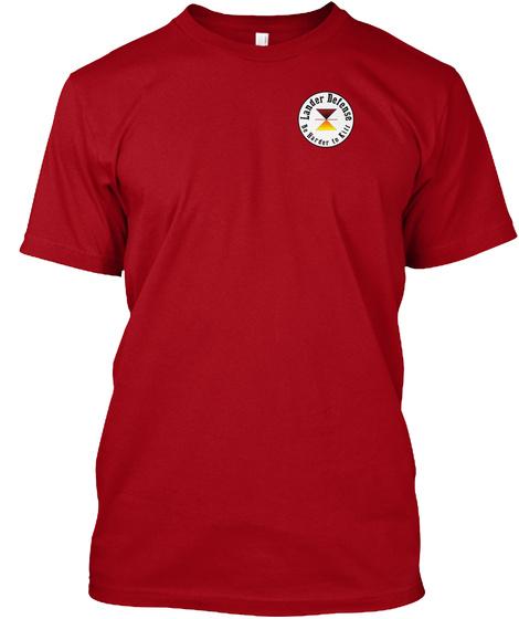 Lander Delense Deep Red T-Shirt Front