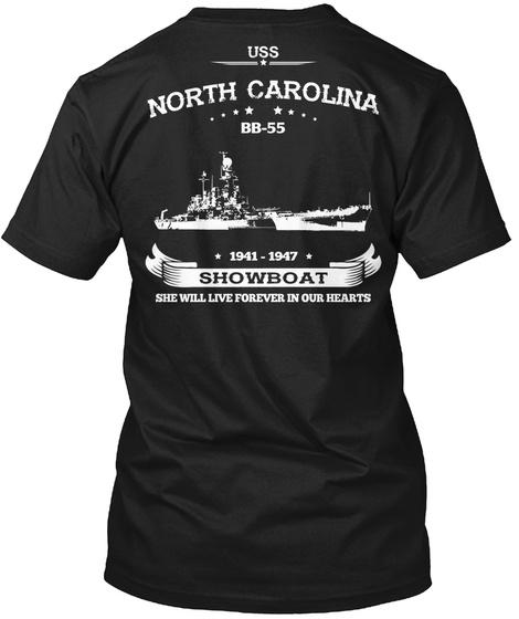 USS NORTH CAROLINA BB-55 Unisex Tshirt