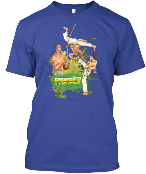 Capoeira Do Brasil Deep Royal T-Shirt Front