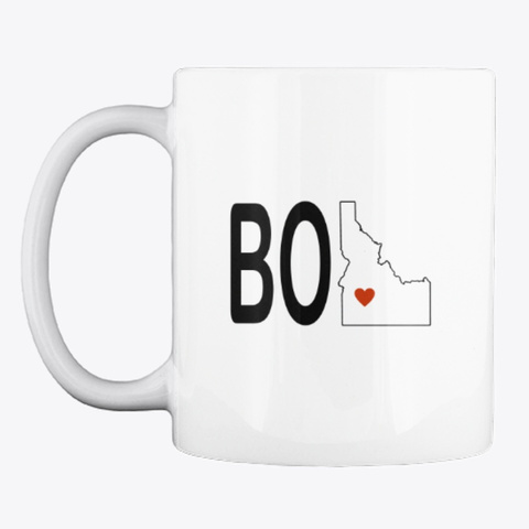 Boi Coffee Mug White T-Shirt Front