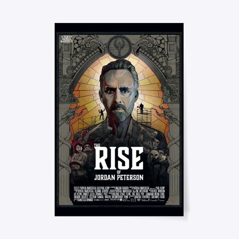 The Rise Of Jordan Peterson Film Poster Standard T-Shirt Front