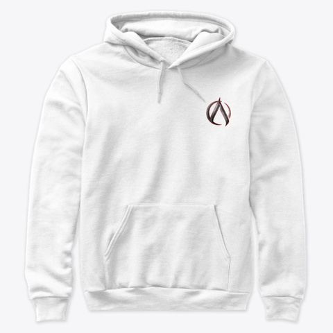 Ak 'amnesia' Hoodie White T-Shirt Front