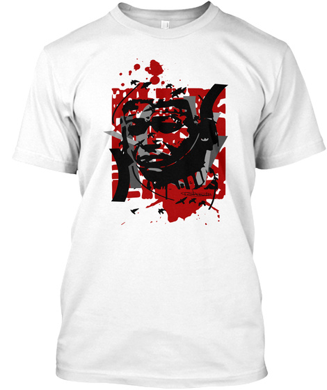 V Collection: Blood Of A Kente Warrior White T-Shirt Front