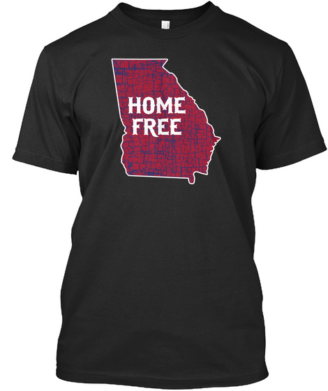 Home Free Black T-Shirt Front