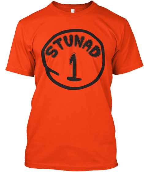 Stunad 1  Deep Orange  T-Shirt Front