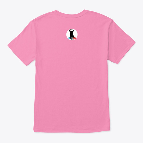Gymnast Pink T-Shirt Back