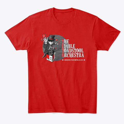 Teto Man Shirt (Red) Classic Red T-Shirt Front