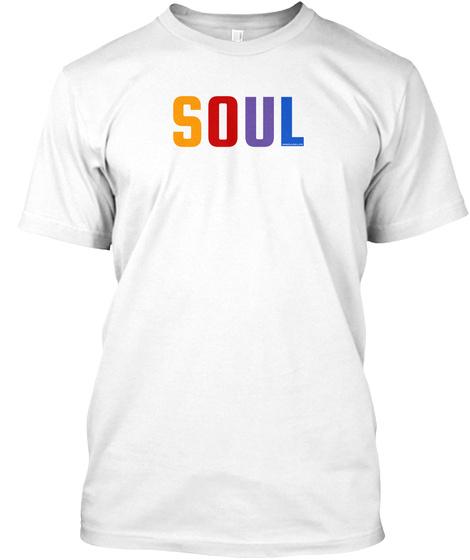 Soul Spectrum T Shirt (Men's) White T-Shirt Front