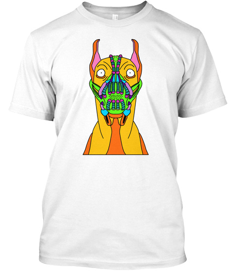 Great Dane White T-Shirt Front
