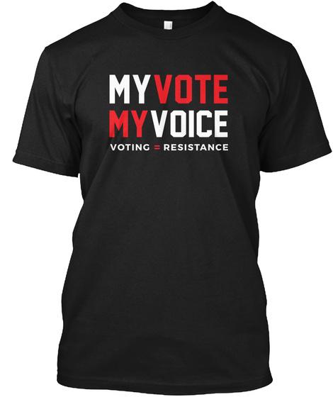 e5e79fa30c54 My Vote My Voice #Hearourvote - My vote my voice voting resistance ...