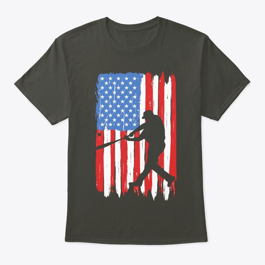 Us Flag Baseball Unisex Tshirt