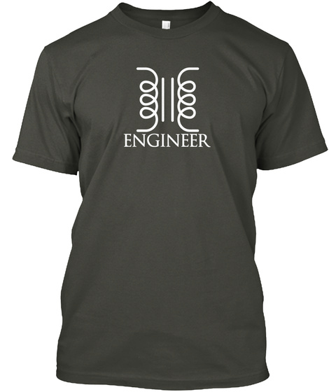 Engineer Smoke Gray T-Shirt Front