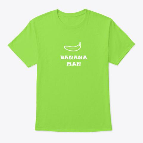 Banana Fruit Palm Hero Cooking Banana G Lime T-Shirt Front