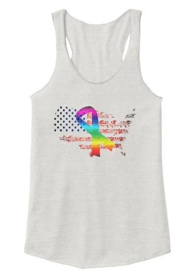 Orlando Strong... Advisory Clothing Eco Ivory  T-Shirt Front