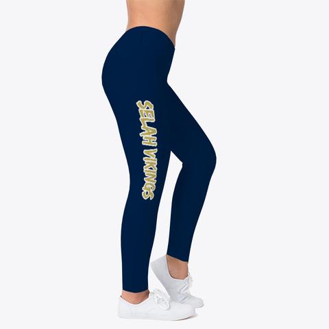 Selah Vikings Leggings Standard T-Shirt Right