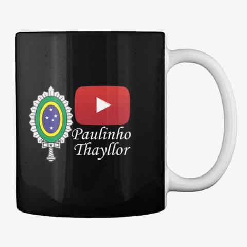 Loja Paulinho Thayllor Black Camiseta Back
