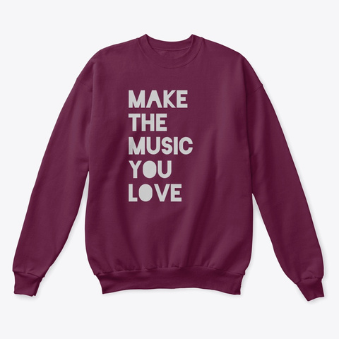 Mtmyl Sweatshirt  2020 Maroon  T-Shirt Front