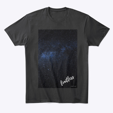 Limitless T   Allswell Black T-Shirt Front