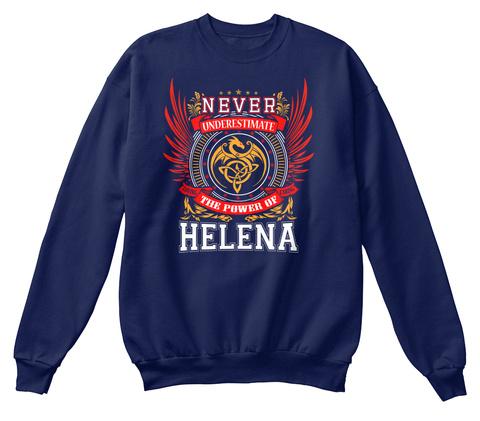 Never Underestimate The Power of Helena Hoodie Black