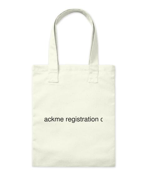 Un Hackme Registration Code Natural Tote Bag Front