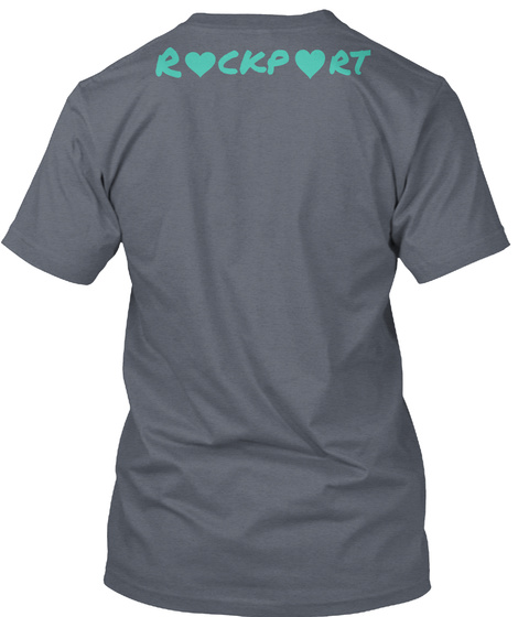 Rockport Deep Heather T-Shirt Back