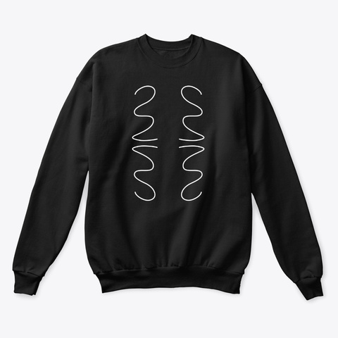 Sweatshirt: Action Black T-Shirt Front