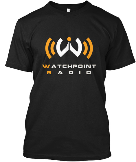 Watchpoint Radio Black T-Shirt Front