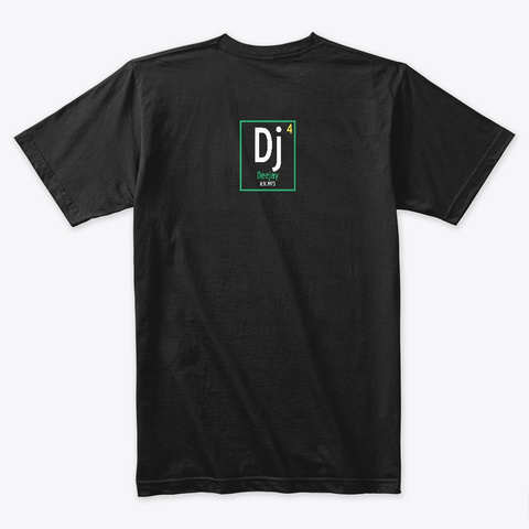 Know The Dee Jay Brazil Black T-Shirt Back