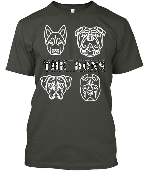 The Do Ns Smoke Gray T-Shirt Front