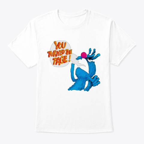You Tur White T-Shirt Front