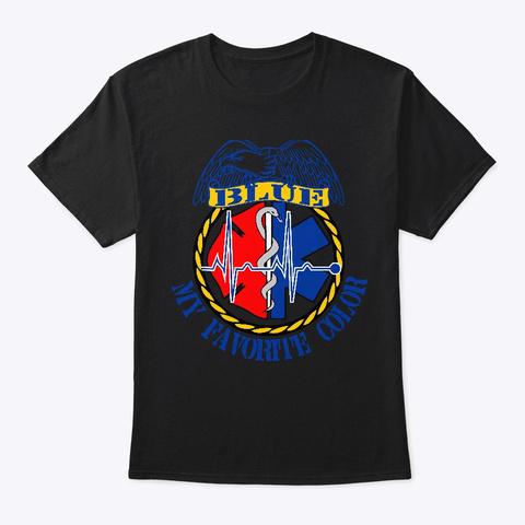 My Favorite Color Black T-Shirt Front