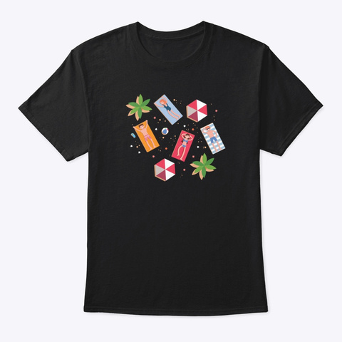 T Shirt: Enjoy Black T-Shirt Front