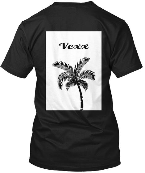 Vexx Black T-Shirt Back