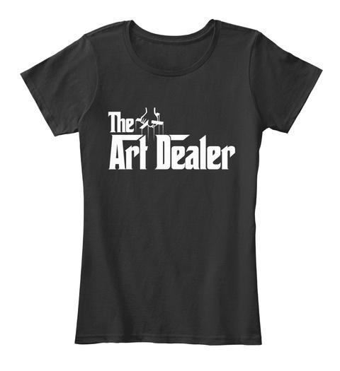 The Art Dealer Black T-Shirt Front