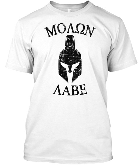 Moaon Aabe White T-Shirt Front