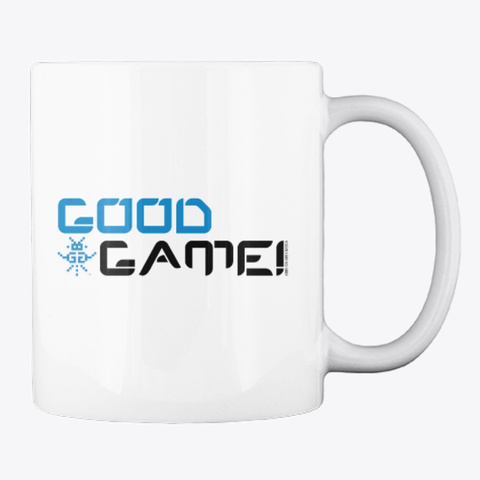 Good Game Mug White Mug Back