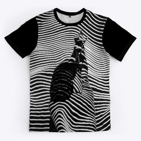 T Shirt: She Black T-Shirt Front