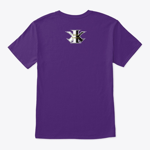 2020  The Year To Refocus Purple T-Shirt Back
