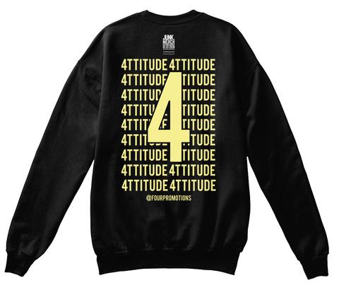 4 Ttitude 4 Ttitude  4 Ttitude 4 Ttitude  4 Ttitude 4 Ttitude  4 Ttitude 4 Ttitude  4 Ttitude 4 Ttitude  4 Ttitude 4 Ttitude... Jet Black T-Shirt Back