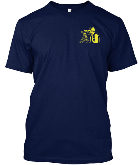 Awesome Civil Engineer Navy T-Shirt Front