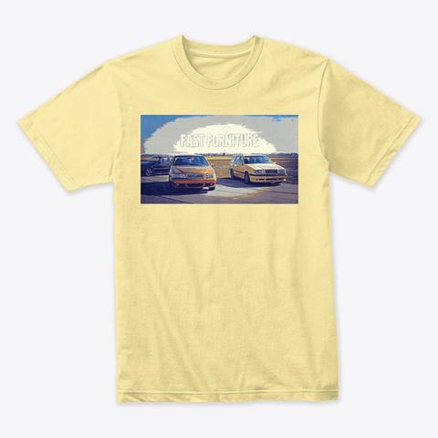 Fast Furniture Banana Cream T-Shirt Front