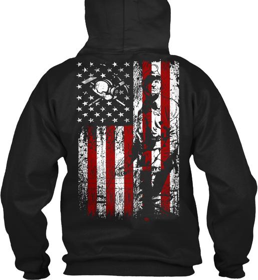 American Miner Apparel Sweatshirt Back