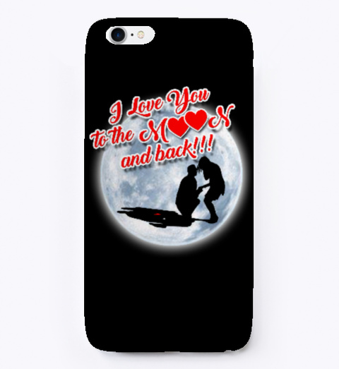 To The Moon And Back Romance Collection  Black T-Shirt Front