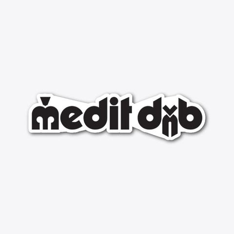 Medit Dn B Classic Black Style Rollerz Standard T-Shirt Front